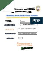 GLOSARIO DE S.D.