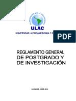 reglamento ulac 2014
