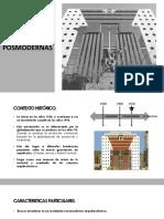 Corrientes Posmodernas