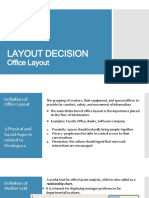 Layout Decision