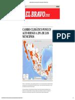 Cambio climático pone en alto riesgo a ...pdf