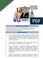 Programa Analítico Diplomado Talento Humano