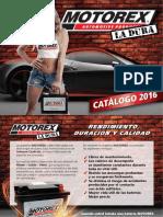 Catalogo Baterias Motorex