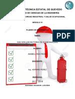 Universidad Técnica Estatal de Quevedo Planes de Emergencia