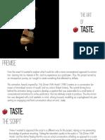 Submission - Taste - Art Of.