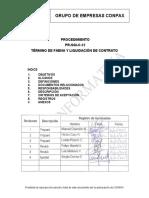 Procedimiento Termino de Faena y Liquidacion de contrato.pdf