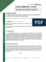 Guía de Determinación de Carbohidratos Disponibles