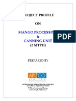 Mango Processing & Canning Unit 1