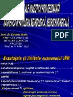 IRM- Indicatiile Examinarii