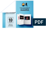 Anuncio presentación libro