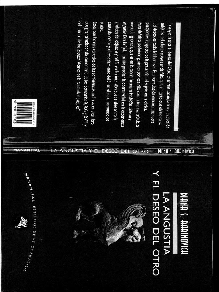 rabinovich - la angustia y el deseo del otro (libro ...