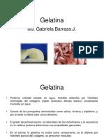 Clase Gelatina
