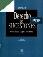 Derecho de Sucesiones Tomo I Lopez Herrera