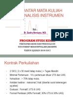 Pengantar Analisis Instrumen II (1)