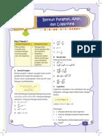 Kumpulan Materi UN SMA Matematika IPS Edukasicampus.net