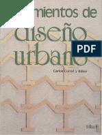 Lineamientos de Diseno Urbano Mexico
