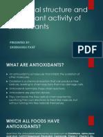 Shubhangi Pant Antioxidants