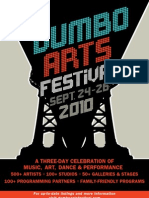 DUMBO Arts Festival 2010 Guide