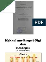 Erupsi Gigi Umy