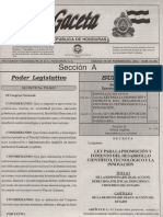 Ley Promo Fomento Desa Cient 2014