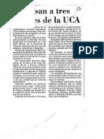 Artículos Periodísticos. Imputación Objetiva