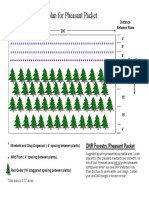 Suggested [tree] planting plan for Pheasant Packet (Iowa DNR)