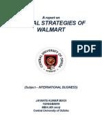 WALMART Strategies