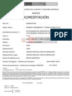Certificado REMYPE