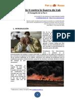 Juan Pablo II Contra La Guerra de Irak, Pan y Rosas