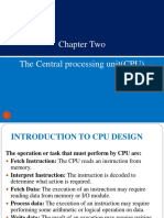 Chapter Two CPU