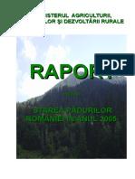 Raport Starea Padurilor 2005