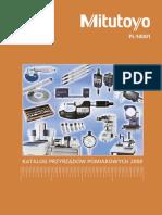 Mitutoyo - Katalog PL-14001