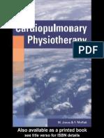 Cardiopulmonary Physiotherapy