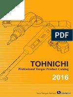 Tohnichi - Katalog 2016 EN