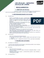 Regulamentos Da Escola de Líderes