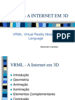 Apresentação VRML