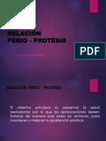 Relacion Perio Protesis