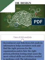 Job Analysis Design