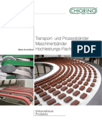 CHIORINO Transportbander Unternehmen Produkte-De