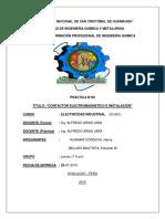 Contactor Electromagnetico e Instalacion