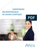 Supply Chain Manager Competency Model French