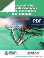 Manual de Esterilizaci_n Para Centros de Salud-OPS