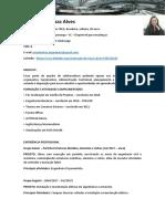 Curriculo - Priscila de SOuza Alves - Engenharia