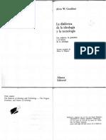 Gouldner, Alvin La Dialectica de Ideologia y Tecnologia