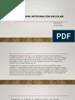 Programa Integración Escolar (PIE)
