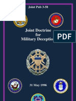 Jp3_58 Military Deception