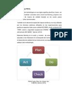 Metodología PDCA