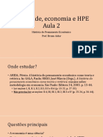 02 Sociedade, Economia e HPE Aula 2