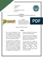 Reporte Quimica Orgnica