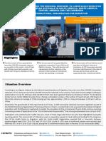 Informe sobre la situación de los venezolanos en el exterior por la OIM